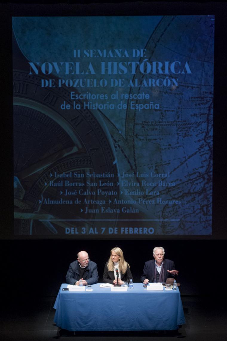 Arranca la II Semana de Novela Histórica de Pozuelo de Alarcón con periodistas, escritores e historiadores de primer nivel