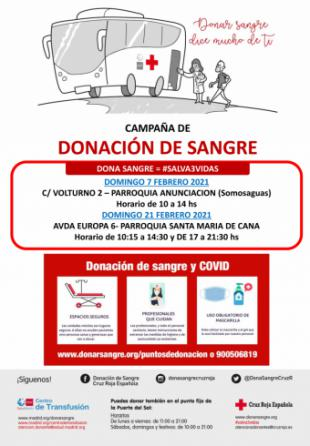 Las donaciones de sangre en Pozuelo batieron récord el año pasado con cerca de 1.400 donantes