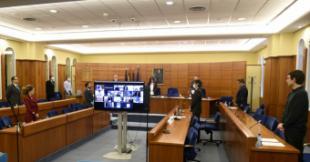 La alcaldesa de Pozuelo de Alarcón detalla en el Pleno todas las medidas puestas en marcha por el Consistorio ante el COVID-19