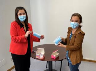 El Ayuntamiento repartirá cerca de 6.000 mascarillas para niños a los colegios públicos y concertados de la ciudad