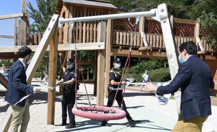 Pozuelo de Alarcón reabre sus parques infantiles