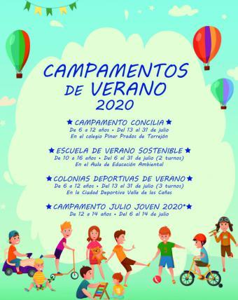 El Ayuntamiento de Pozuelo de Alarcón ofrecerá campamentos de verano tras haber aprobado la Comunidad de Madrid la posibilidad de hacerlo, con restricciones