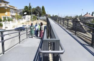Finalizadas las obras de reparación de la pasarela en el Paseo de la Concepción