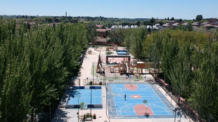 El Ayuntamiento de Pozuelo de Alarcón clausura desde hoy las pistas deportivas del parque Carlos Sainz por seguridad y prevención