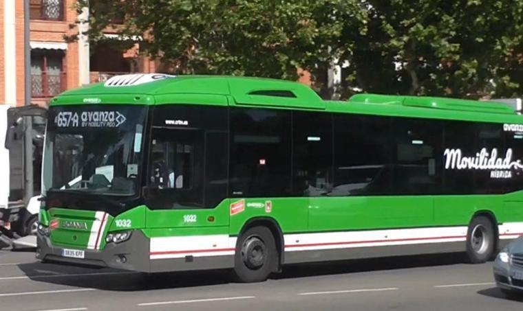 Nueva parada en la línea exprés 657A en la zona de Avenida de Europa-Ática