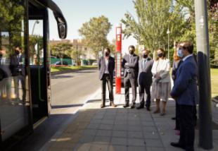 Pozuelo acoge las primeras pruebas en España del bus eléctrico cero emisiones 'Citea'