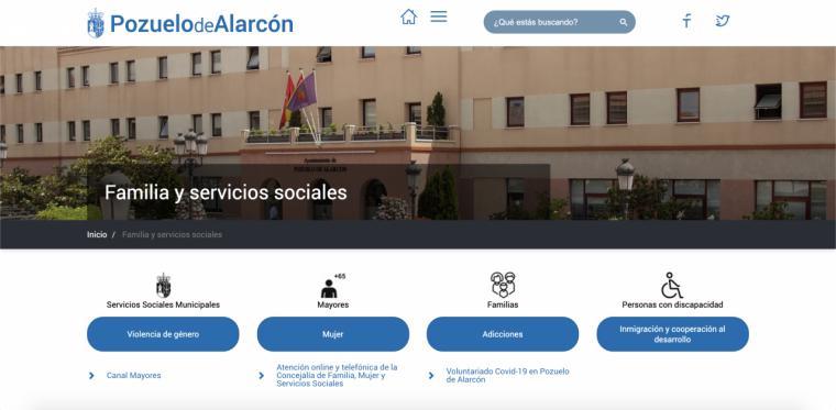El Ayuntamiento pone en marcha el CANAL MAYORES en la web municipal para acercarles a sus hogares información, actividades y talleres