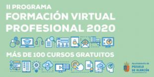 Continúa abierta la inscripción para los cursos del Programa de Formación Virtual del Ayuntamiento de Pozuelo de Alarcón