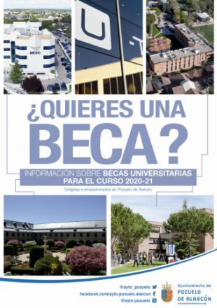 El Ayuntamiento recuerda que aún está abierto el plazo para solicitar becas de estudio en algunas universidades de la región