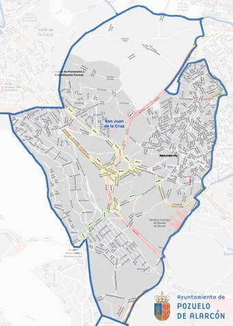La Comunidad de Madrid restringe la movilidad en la zona básica de salud San Juan de la Cruz