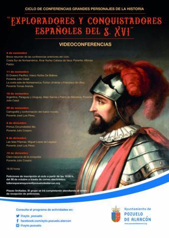 """Arranca el ciclo de conferencias """"Grandes Personajes de la Historia"""" que se realizará por videoconferencia"""