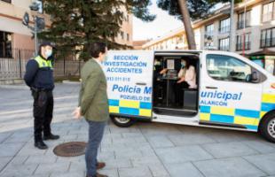 Nuevo vehículo de atestados para la Policía Municipal de Pozuelo de Alarcón