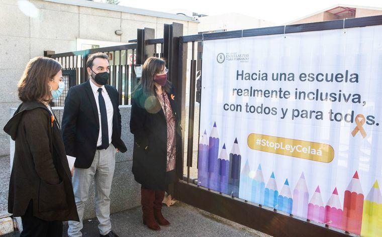La alcaldesa de Pozuelo muestra su apoyo a los colegios concertados ante la Ley Celáa