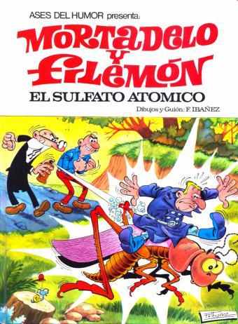La primera serie larga publicada de Mortadelo y Filemón y una de las series más afamadas de Ibáñez. Muestra mejor que ninguna otra historieta la influencia del estilo del cómic franco-belga que triunfaba en Europa en la década de los 60, con personajes como Asterix o Lucky Luke, con un dibujo muy detallado y de calidad.