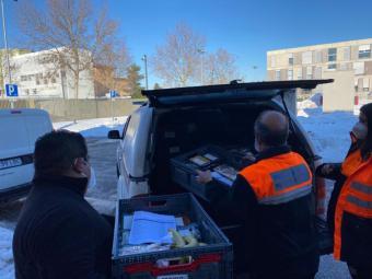 El Ayuntamiento sigue prestando el servicio de comida a domicilio para personas en situación de vulnerabilidad