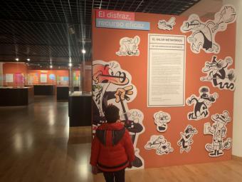 Las exposiciones organizadas en Pozuelo con motivo de la campaña de Navidad reciben cerca de 3.000 visitantes