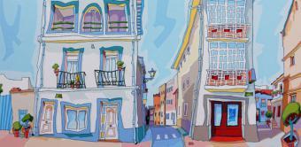 El Centro Cultural Volturno de Pozuelo de Alarcón acoge la muestra del pintor Luis Valpuesta