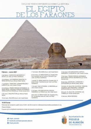 El Ayuntamiento organiza un ciclo de videoconferencias sobre la historia de Egipto