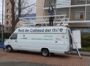 La Unidad Móvil de Calidad del Aire de la Comunidad de Madrid estaciona en Pozuelo hasta el 5 de marzo