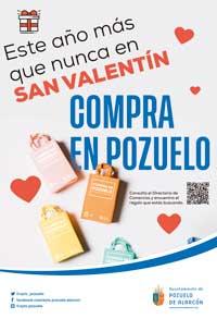 El Ayuntamiento anima a comprar los regalos de San Valentín en el comercio de la ciudad