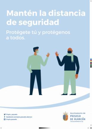 Pérez Quislant pide no bajar la guardia ante el Covid-19 aunque la tendencia en Pozuelo es a la baja