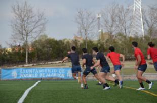 El Valle de las Cañas de Pozuelo, sede de entrenamiento para las selecciones de rugby de España, Francia y Estados Unidos