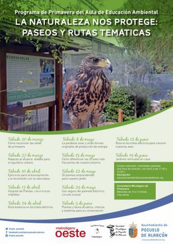 El Gobierno municipal organiza un programa de actividades en fin de semana y al aire libre para disfrutar de la naturaleza