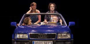 Pablo Carbonell y Lara Dibildos, protagonistas del puente de San José en el MIRA Teatro