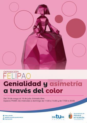 Las icónicas creaciones de Felipao llenan de color el Espacio MIRA de Pozuelo