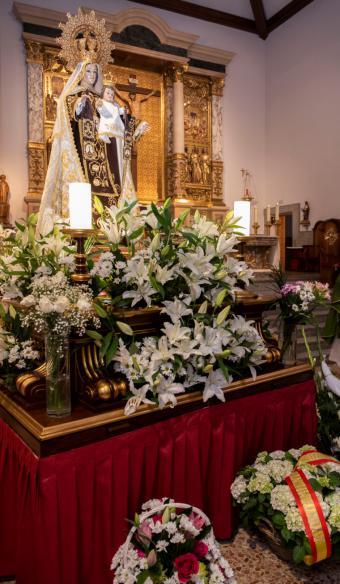 Pozuelo de Alarcón celebrará la festividad en honor a la Virgen del Carmen con un programa de actos religiosos