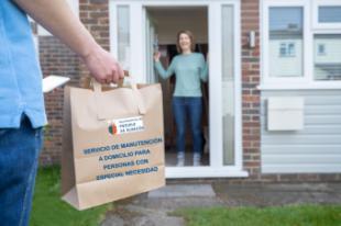 Nuevo servicio de manutención a domicilio con la entrega de alimentos preparados para personas con especial necesidad
