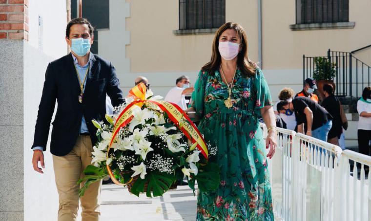 Pérez Quislant participa en la Ofrenda Floral en honor a la Virgen de la Consolación
