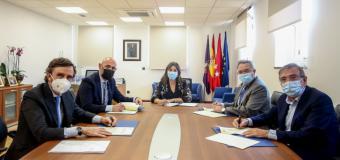 Pérez Quislant firma un convenio con los rectores de las cuatro universidades de la ciudad