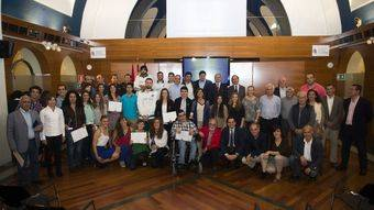 Ganadores de la primera edición de los Premios 'Pozuelo Espíritu Deportivo'