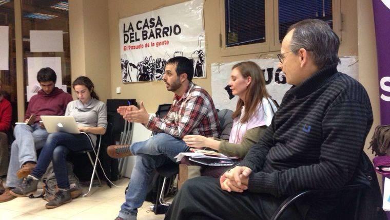 La Secretaría Internacional de Podemos visita Pozuelo