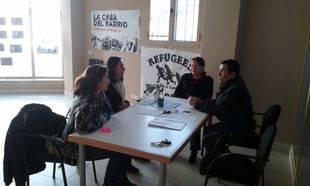 Reunión SOS Refugiados Pozuelo y Podemos Pozuelo