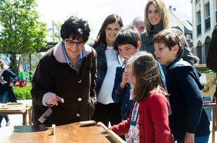 Más de 350 escolares participan en la Gymkhana Matemática de Pozuelo
