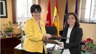 Susana Pérez Quislant firma un convenio con AFAN Pozuelo