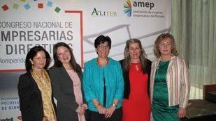 Gran éxito del I Congreso Nacional de Empresarias y Directivas organizado por Amep y Aliter en Pozuelo