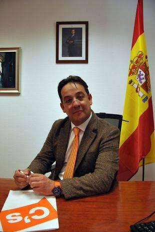 Miguel Ángel Berzal, portavoz del Grupo Municipal Ciudadanos. Pozuelo de Alarcón