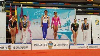 Mónica Yéboles, del Club de Gimnasia Artística de Pozuelo, Campeona de España en salto