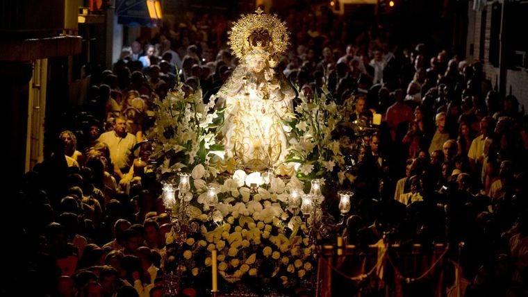 Cultos religiosos en honor a la Patrona de Pozuelo