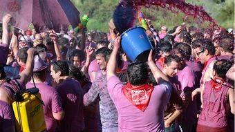 Batalla del Vino de Haro (La Rioja).