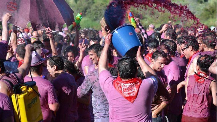 ¿Te alistas a la Batalla del Vino de Pozuelo?