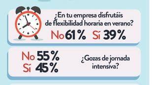 ¿Crees que la flexibilidad horaria aumenta la productividad?