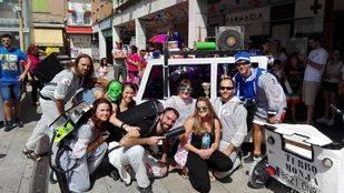 Los Cazafantasmas ganan la Carrera de Autos-Locos de Pozuelo