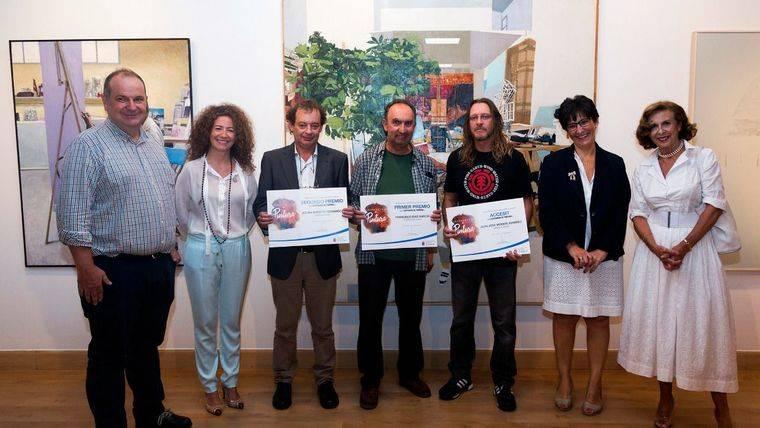 Francisco Díaz gana el Certamen de Pintura 'Pozuelo de Alarcón'