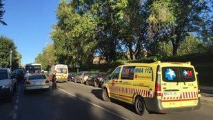 Un microbús atropella a un niño de 11 años en Pozuelo