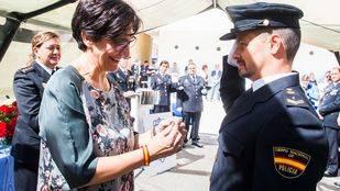 La alcaldesa destaca la entrega y profesionalidad de la Policía Nacional de Pozuelo de Alarcón