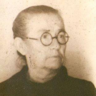 Brígida Ucedo, esposa de Federico López.